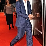 Prince Harry attended the Dark Knight Rises premiere.