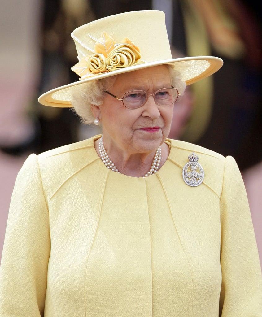 Real Queen Elizabeth II . . . and Her Hat