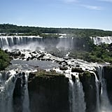 Stand at the Edge of the Iguazu Waterfalls in Uruguay
