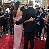 Amal Clooney's Pink Prada Gown