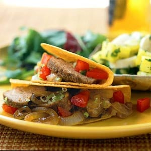Fast & Easy Dinner: Red Chile Pork Tacos