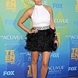 Kim Kardashian at the Teen Choice Awards in 2011