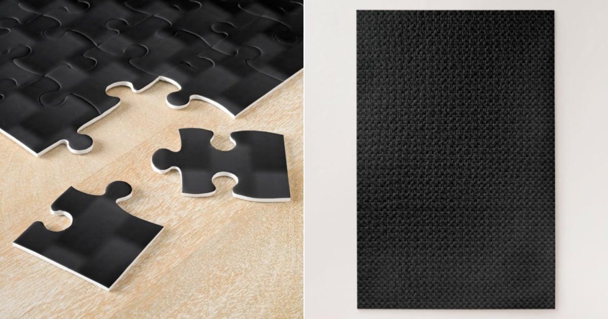 Shop an All Black, 1,000 Piece Puzzle