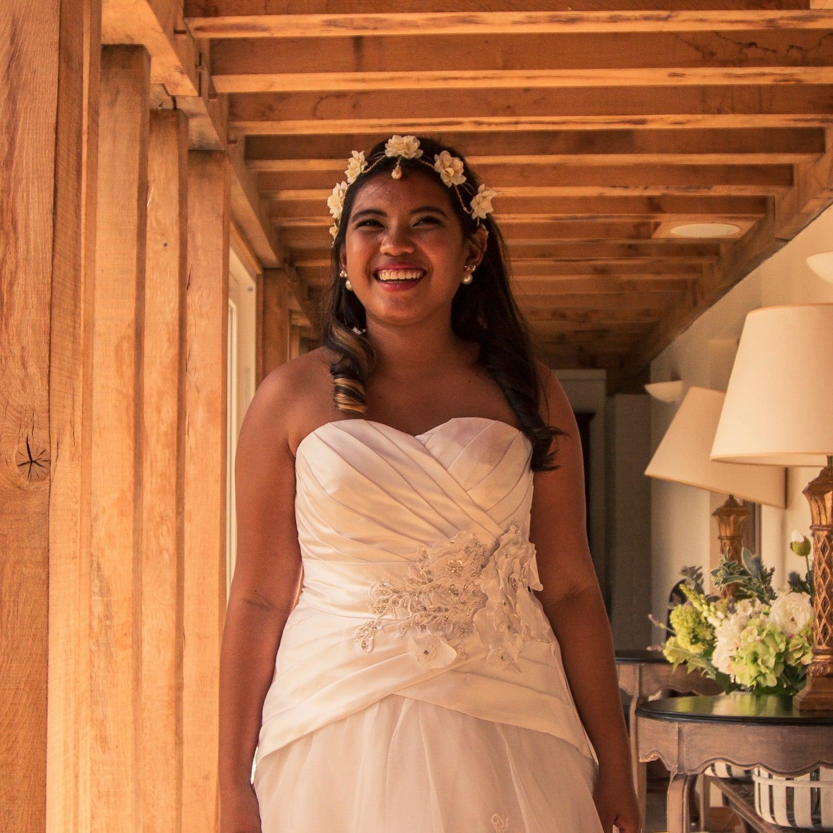 Orange Wedding Gown 37 Cool