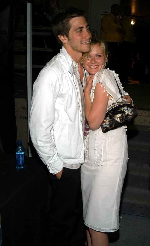 At the 2003 show, Kirsten Dunst cosied up to Jake Gyllenhaal backstage.