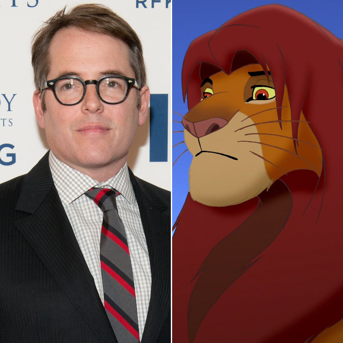 Matthew Broderick: Adult Simba in The Lion King