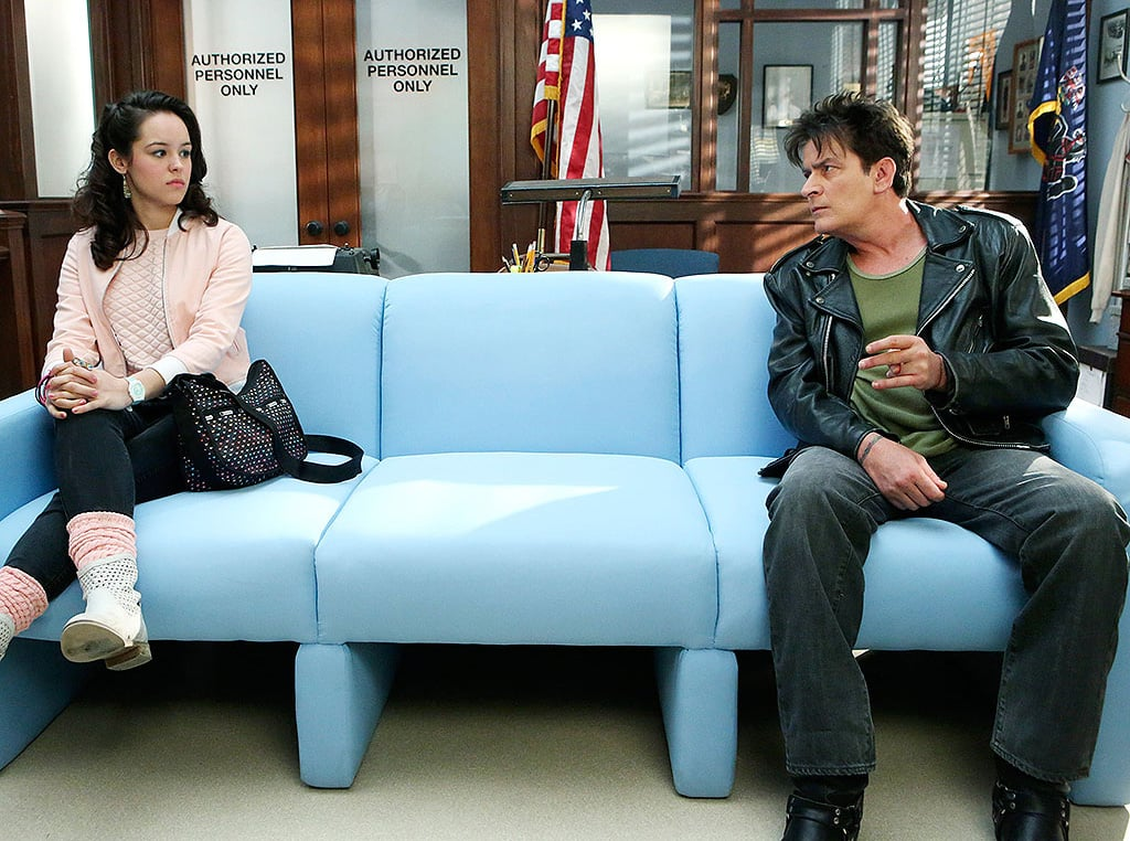 Charlie Sheen as Ferris Bueller's Day Off on The Goldbergs
