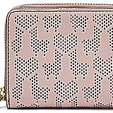 Fossil Emma Llama & Heart Perforated RFID Mini Multifunction Wallet ($55)
