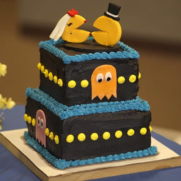 Pac-Man Layer Cake