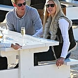 Pictures of Prince Harry and Chelsy Davy
