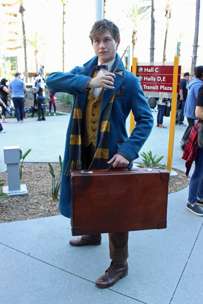 Newt Scamander — Fantastic Beasts and Where to Find Them