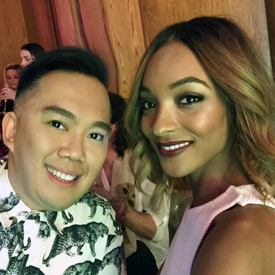 Australian Makeup Artist at NYFW Feb 2016