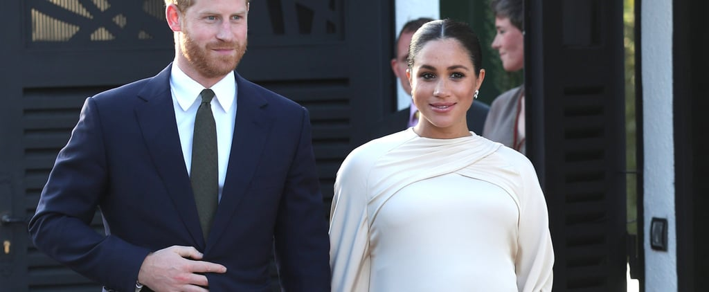 Meghan Markle Wears a Dior Gown in Morocco February 2019
