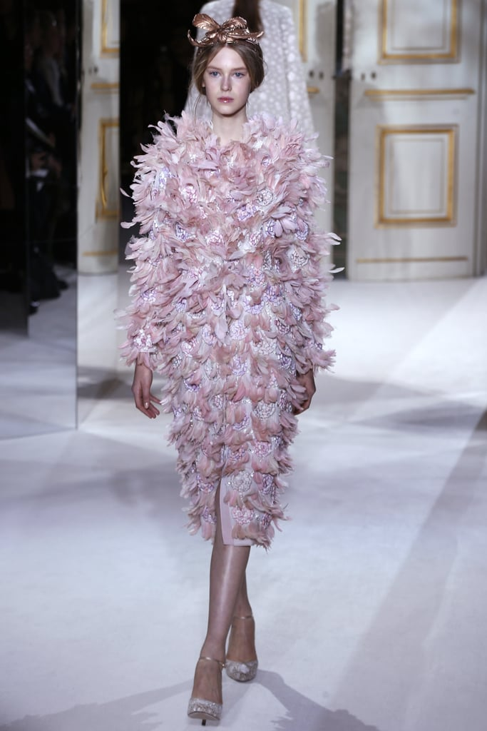 Feathers at Giambattista Valli