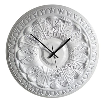 Desire/Acquire: Ceiling Medallion Clock