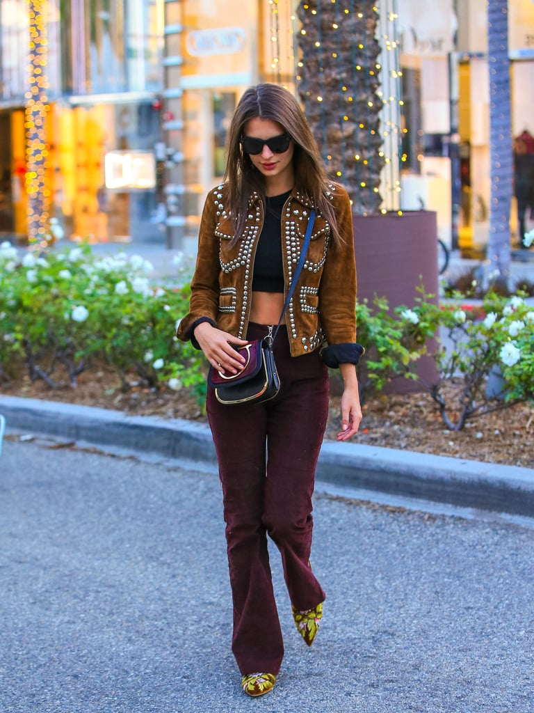 Emily Ratajkowski's Crossbody Bag Is Small, but It Just Might Rock Your World