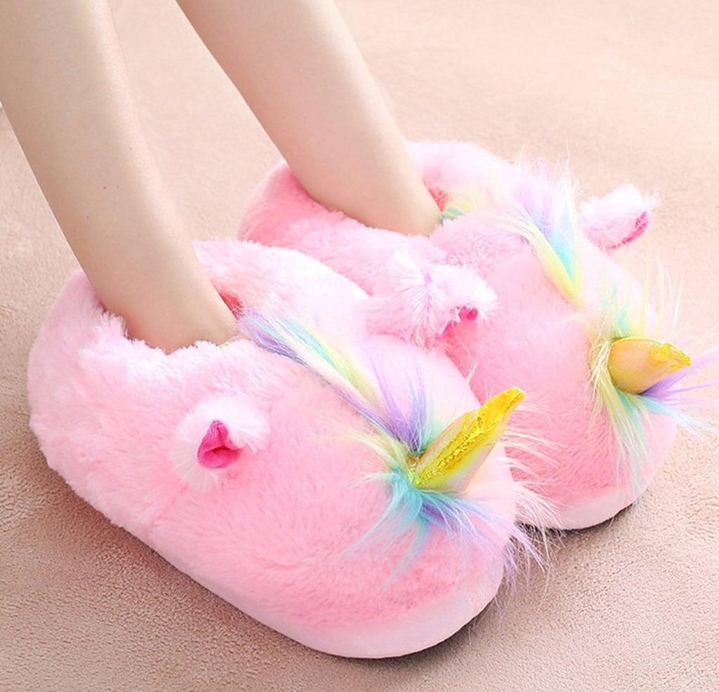 Unicorn House Slippers