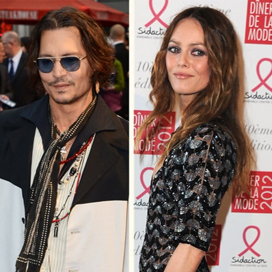 Johnny Depp Denies Split From Vanessa Paradis (Video)