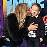 Pictured: Naya Rivera and son, Josey Hollis