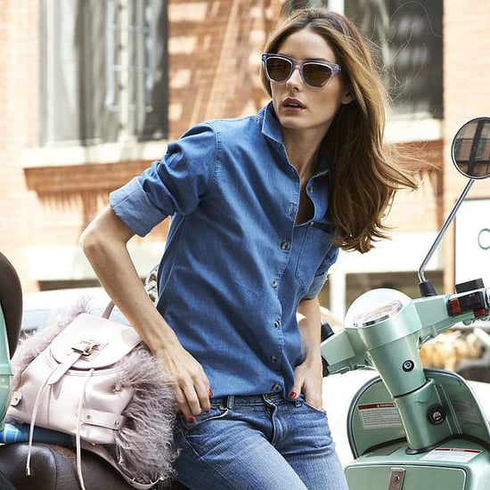 Olivia Palermo Wearing Westward Leaning Sunglasses