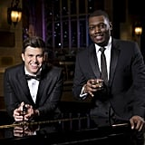 Colin Jost and Michael Che's Hosting Gig