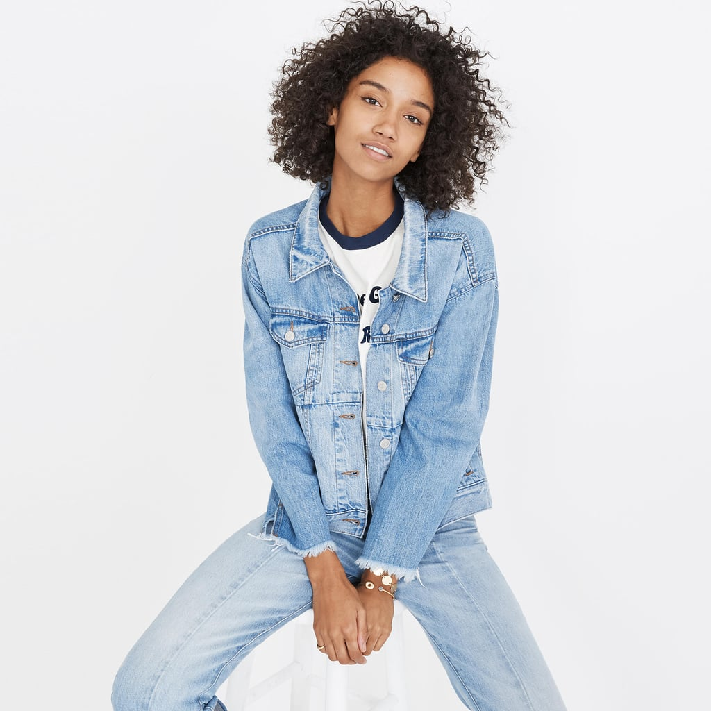 Madewell Reconstructed Jean Jacket