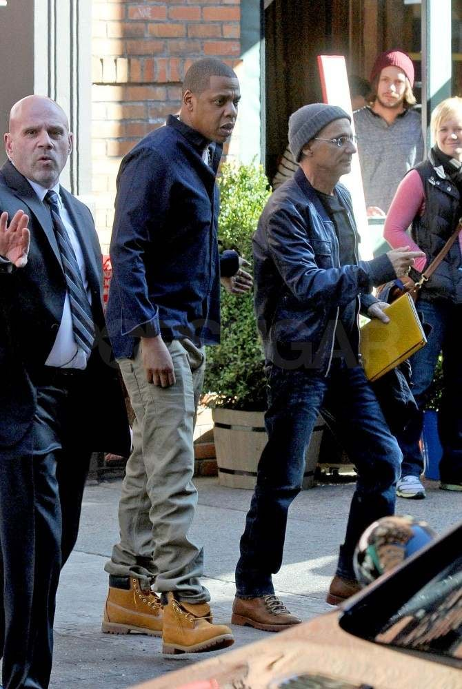 Jay-Z out in NYC.