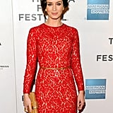 Emily Blunt stepped onto the red carpet for the premiere of Your Sister's Sister during the 2012 Tribeca Film Festival.