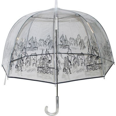 London Fog Women's 904 Clear Umbrella ($40)