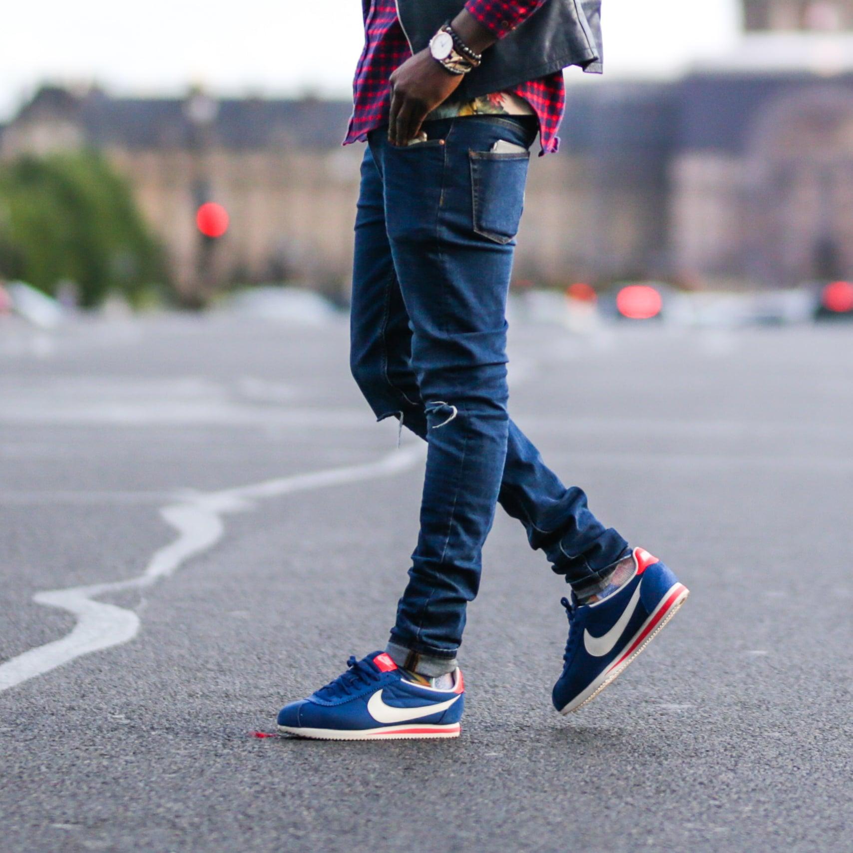 Nike Cortez Basic Leather Men's Casual Shoes