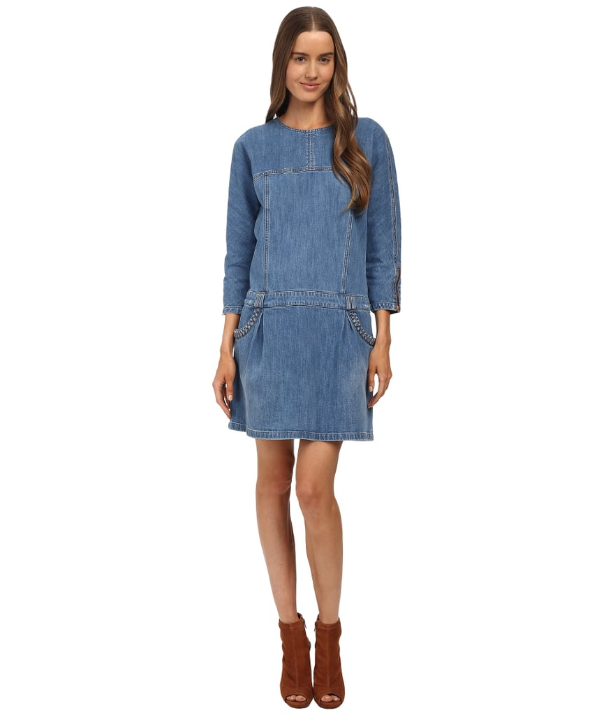 See by Chloé Long Sleeve Denim Dress ($335)