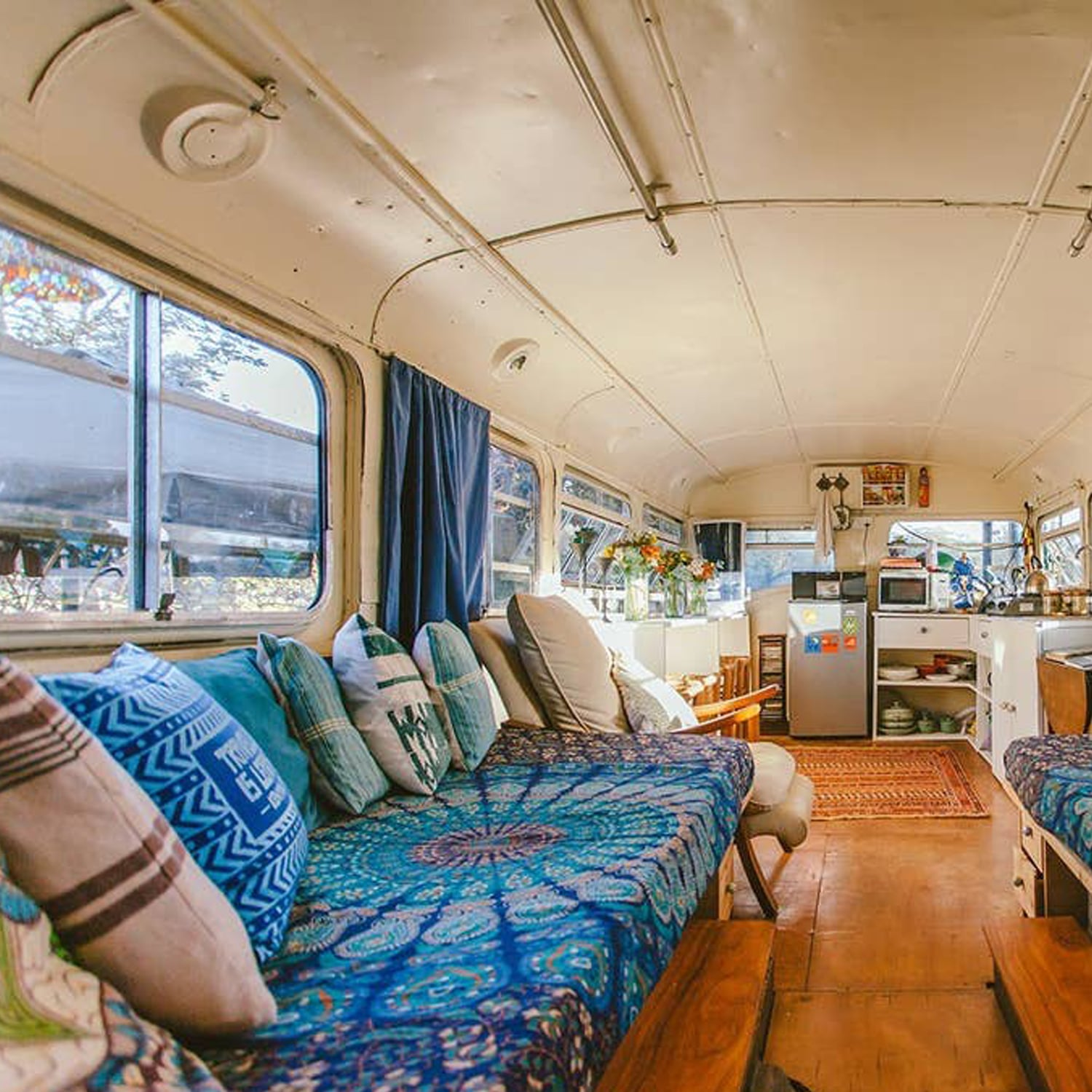 Airbnb Renovated Bus In Nairobi Kenya Popsugar Smart Living