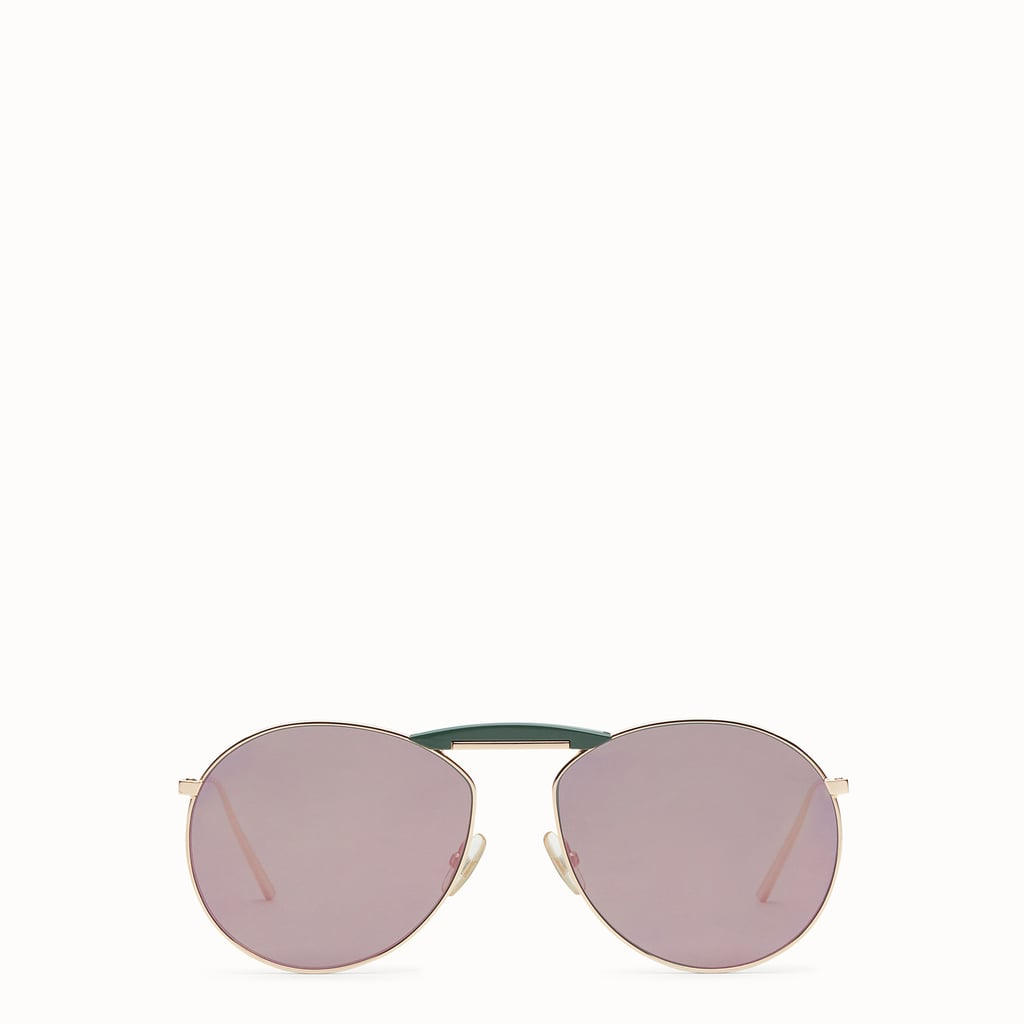 Gentle Fendi Copper-Colored Sunglasses