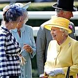 Princess Anne and Queen Elizabeth II, 2017