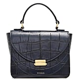 Wandler Luna Mini Croc-Effect Leather Shoulder Bag
