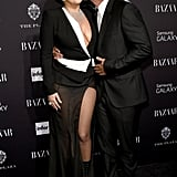 In September 2014, the couple showed PDA on the red carpet at Harper's Bazaar's Icons event in NYC.