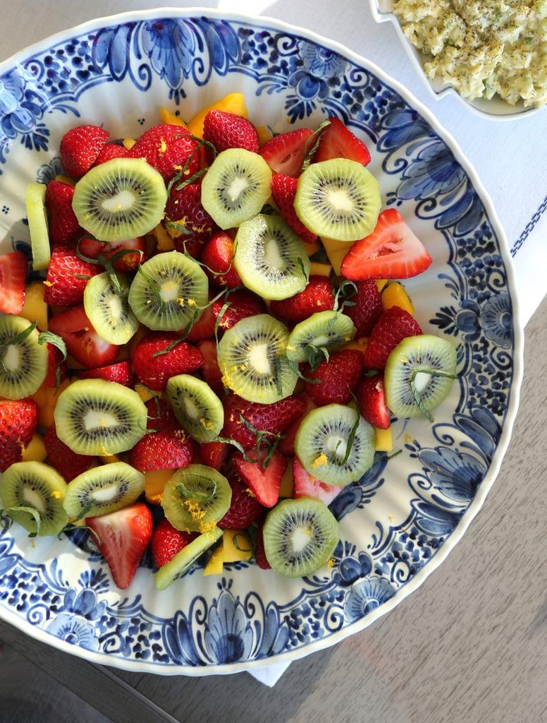 Seasonable fruits and berries make everyone happy