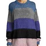 Acne Studios Albah Striped Knit Sweater