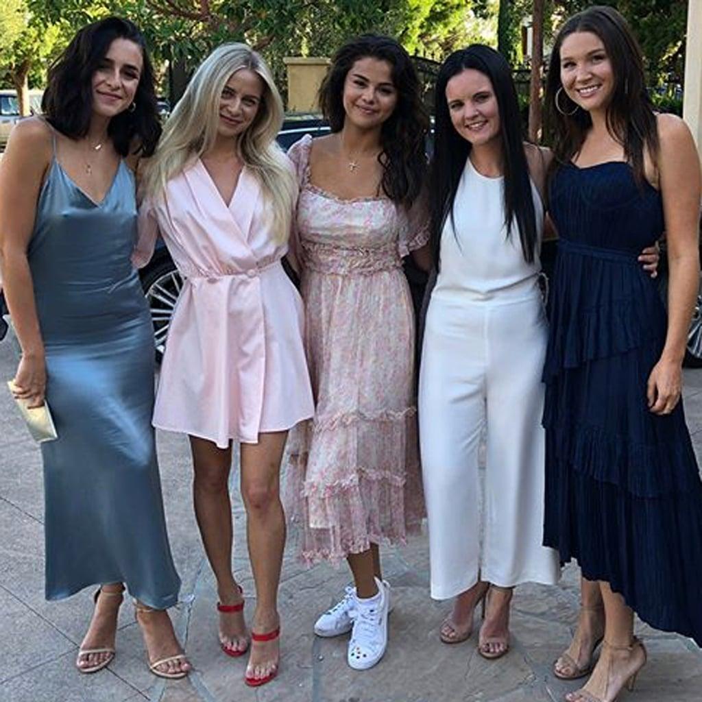 Selena Gomez Birthday Dress 2018