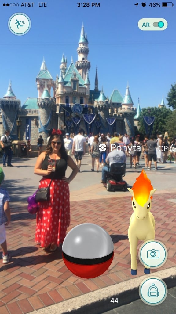 Pokemon Go at Disneyland