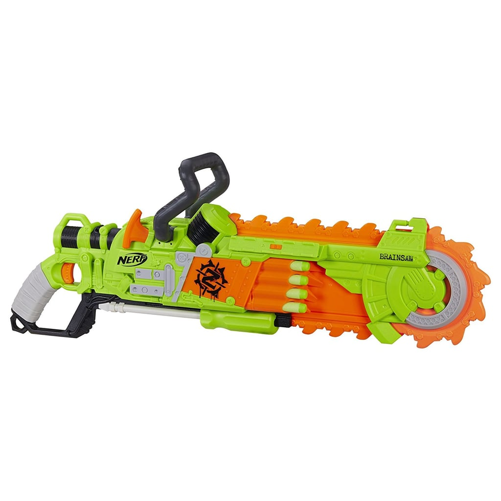 Nerf Zombie Strike Brainsaw Blaster | Gift Guide For 8-Year-Olds ...