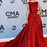 Taylor Swift attended the CMA Awards in Nashville.