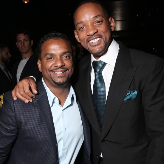 Will Smith and Alfonso Ribeiro at Concussion Premiere 2015