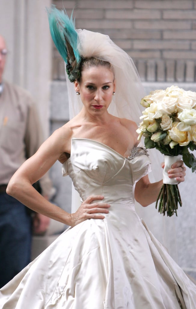 Carrie Bradshaw\'s Wedding Shoes | POPSUGAR Fashion