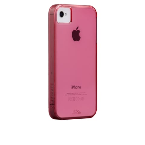 Case-Mate 100% Recycled Plastic Case for iPhone 4/4S in Lipstick Pink ($30)