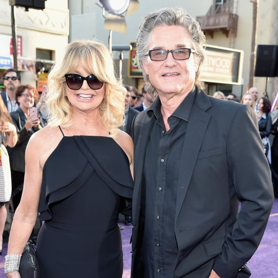 Goldie Hawn and Kurt Russell at Movie Premiere in LA 2017