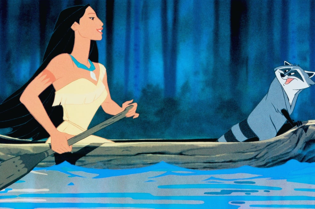 Pocahontas: Kayaking