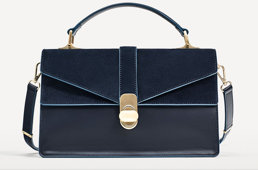 Every working girl needs a go-to trend piece like the Zara City Bag ($60).