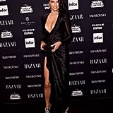 Showing Off Hollywood Glam Vibes at the Harper's Bazaar Icons Party