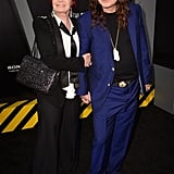 Sharon Osbourne and Ozzy Osbourne made an appearance at the Total Recall premiere in LA.